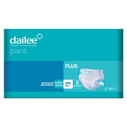 Подгузники-трусики Adult DAILEE PANT Plus 5.5 кап. S 63-80 см, 14 шт.