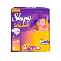 Scutece Sleepy Sensitive Hipoalergenic 2 Mini
