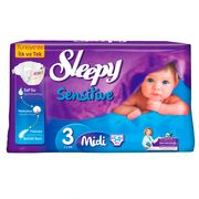 Scutece Sleepy Sensitive Hipoalergenic 3 Midi