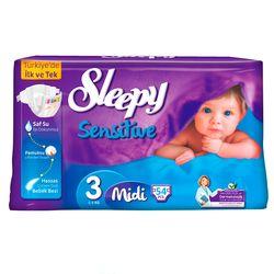 Scutece Sleepy Sensitive Hipoalergenic 3 Midi