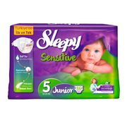 Scutece Sleepy Sensitive Hipoalergenic 5 Jumbo Junior