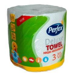 Бумажные полотенца Perfex Deluxe 150 листов, 3 слоя
