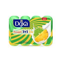 Sapun de toaleta DOXA 4x85gr. Ananas-Lemon, Ecopack