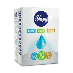 Aleze Igienice Sleepy Natural 90x60 cm 10 buc