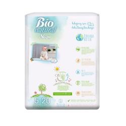 Scutece Sleepy Bio Natural Marime 5 Junior, 11-20kg, 20 bucati
