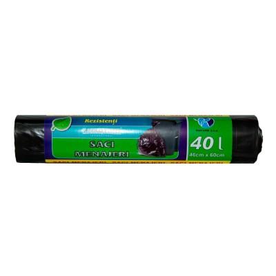 Saci Menajeri Smartino 40L, 10 buc/rola