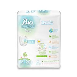 Scutece Chilotel Sleepy Bio Natural 5 Junior 11-20kg, 20 bucati