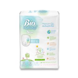 Scutece Chilotel Sleepy Bio Natural 6 XLarge 15-27kg, 16 bucati