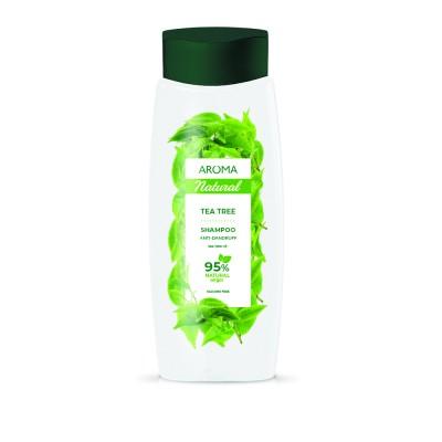 Șampon pentru păr AROMA NATURAL Arbore de ceai 400 ml
