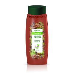 Șampon pentru păr AROMA NATURAL Chinină și cafeină 400 ml