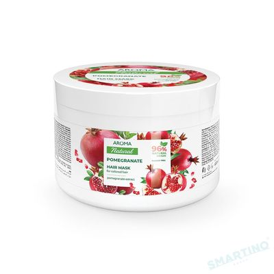Mască de păr AROMA NATURAL Rodie 450 ml