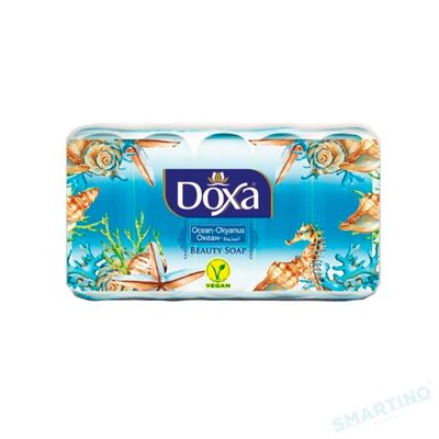 Sapun de toaleta DOXA Ekopack 5x55gr. Ocean