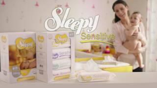 Влажные салфетки SLEEPY Sensitive